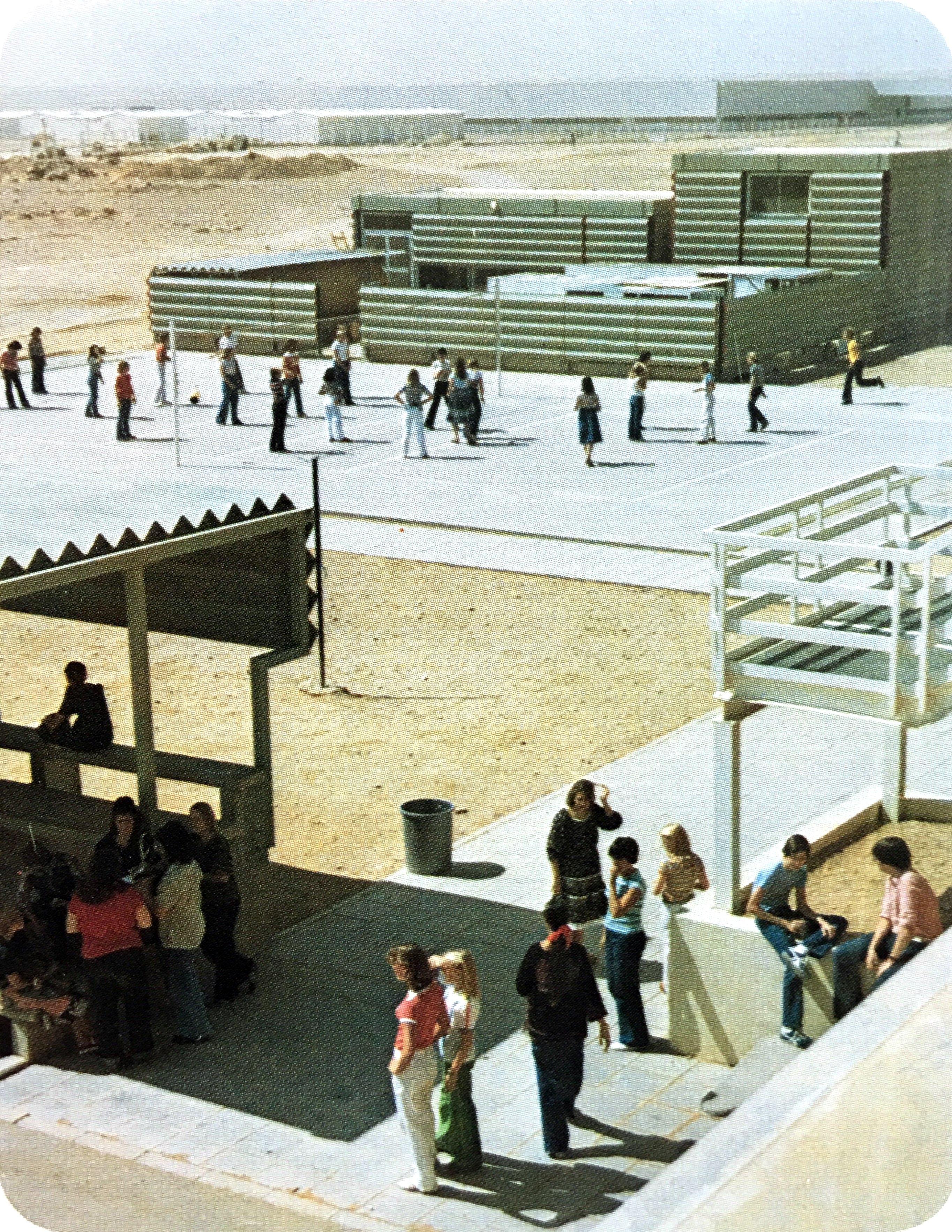 Vintage 80's Saudi Arabian Internation School // Riyadh